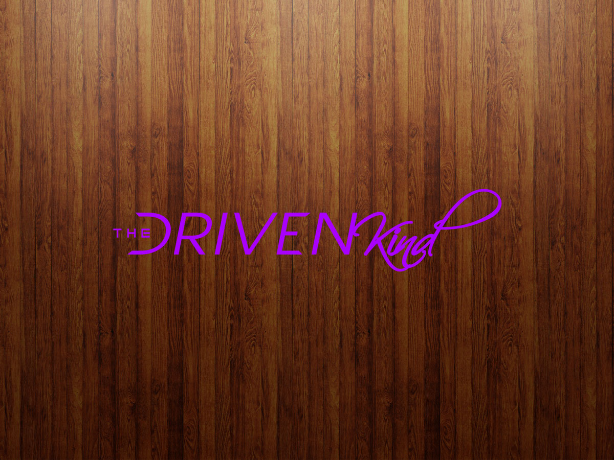 8 Quot Loopy Logo Sticker Purple The Driven Kind