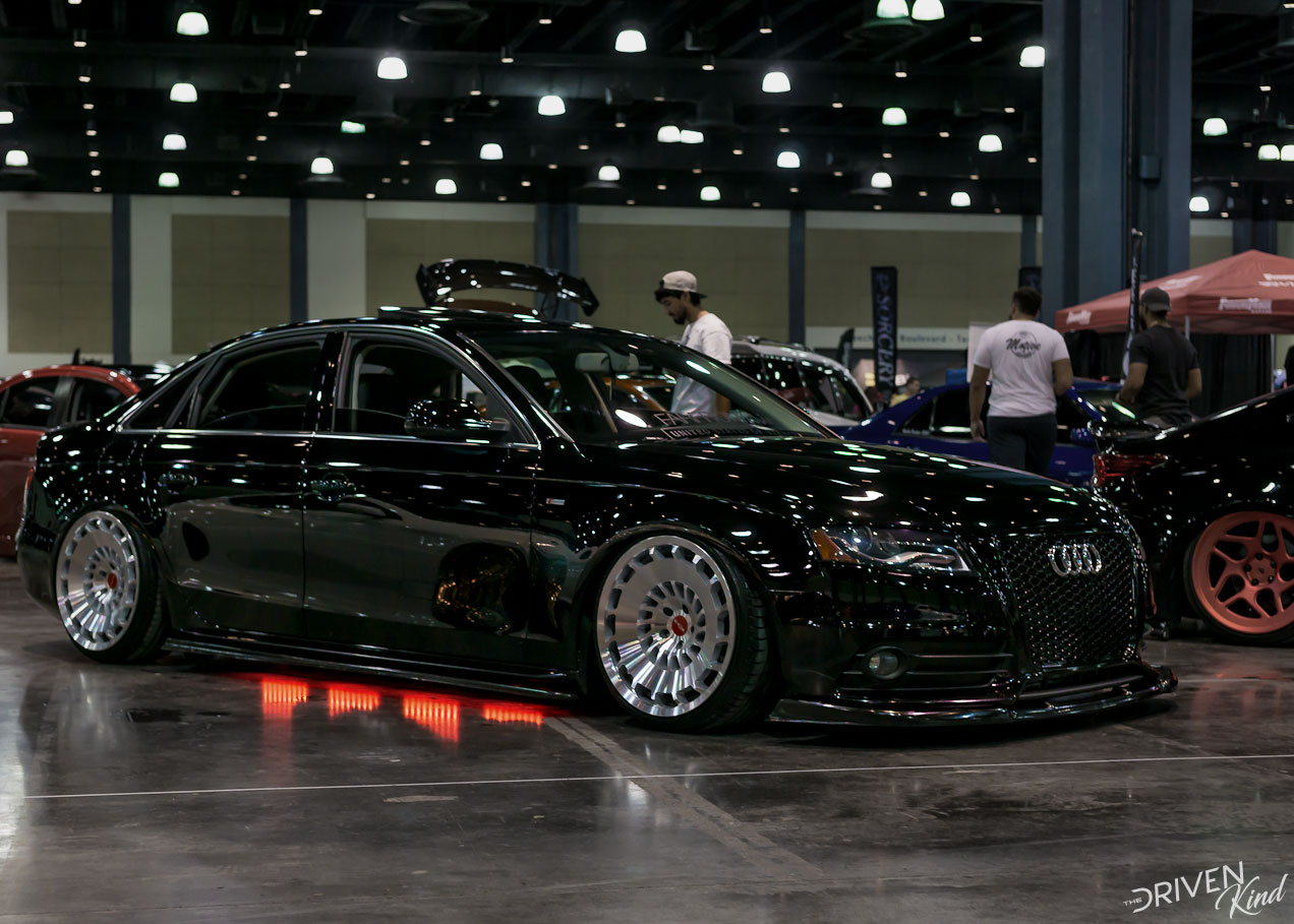 Audi A4 STANCENATION FLORIDA PALM BEACH CONVENTION CENTER 2017 Pt. 1 The Driven Kind Coverage