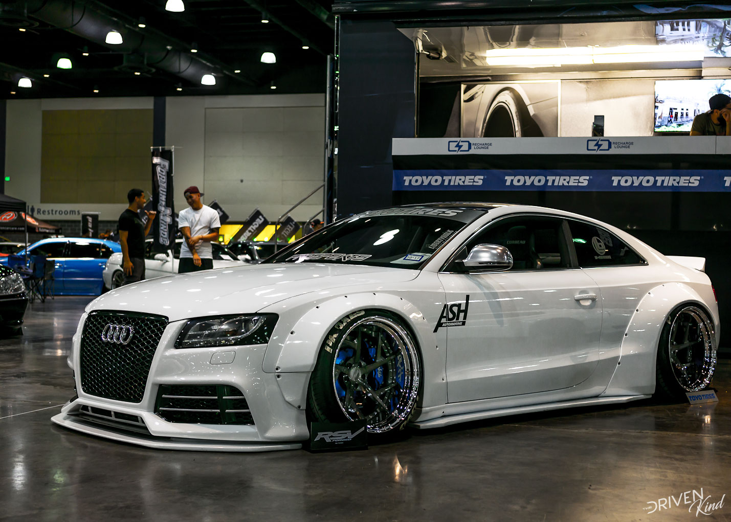 Audi S5 widebody STANCENATION FLORIDA PALM BEACH CONVENTION CENTER 2017 Pt. 1 The Driven Kind Coverage