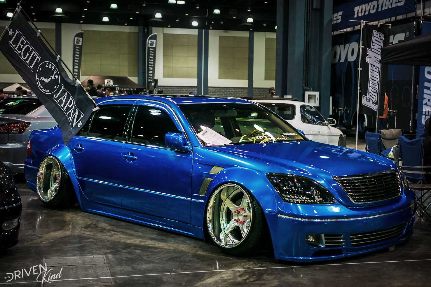 Lexus LS430 STANCENATION FLORIDA PALM BEACH CONVENTION CENTER 2017 Pt. 1 The Driven Kind Coverage