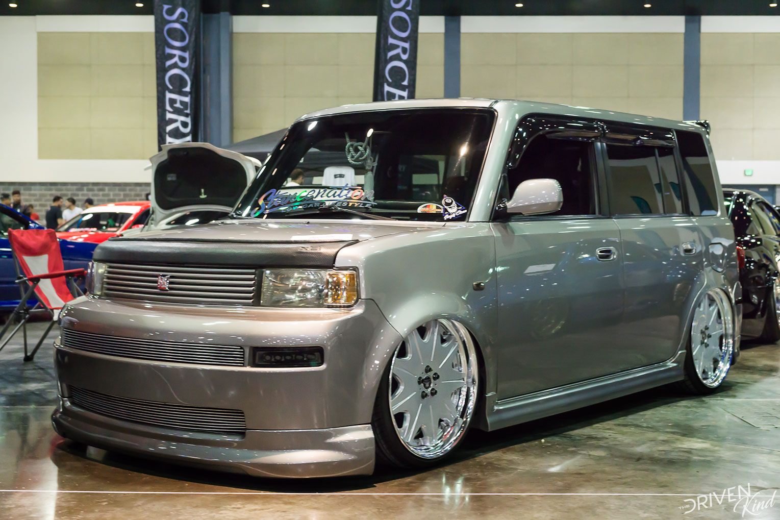 Scion XB STANCENATION FLORIDA PALM BEACH CONVENTION CENTER 2017 Pt. 2 The Driven Kind Coverage