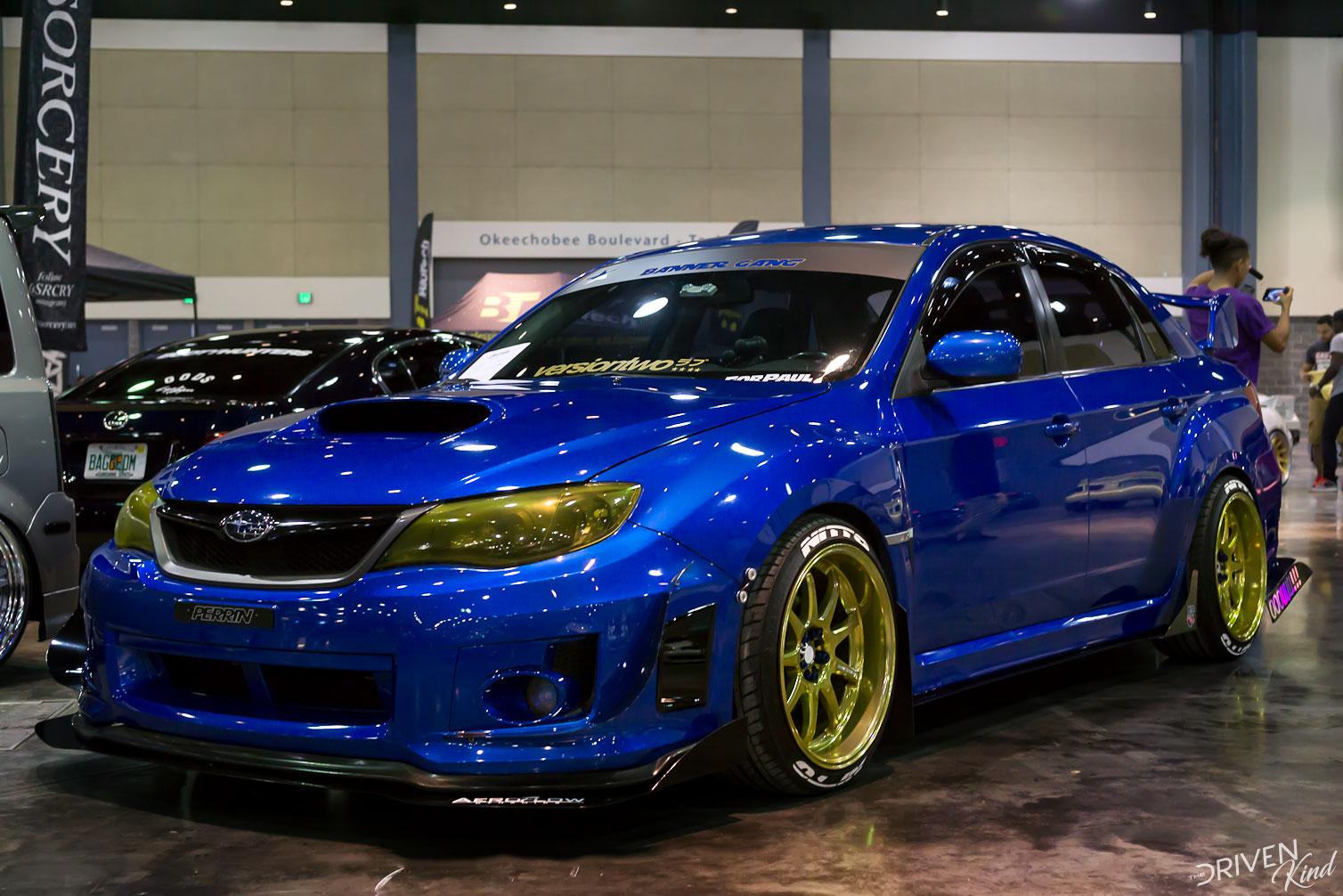 Subaru STI STANCENATION FLORIDA PALM BEACH CONVENTION CENTER 2017 Pt. 2 The Driven Kind Coverage