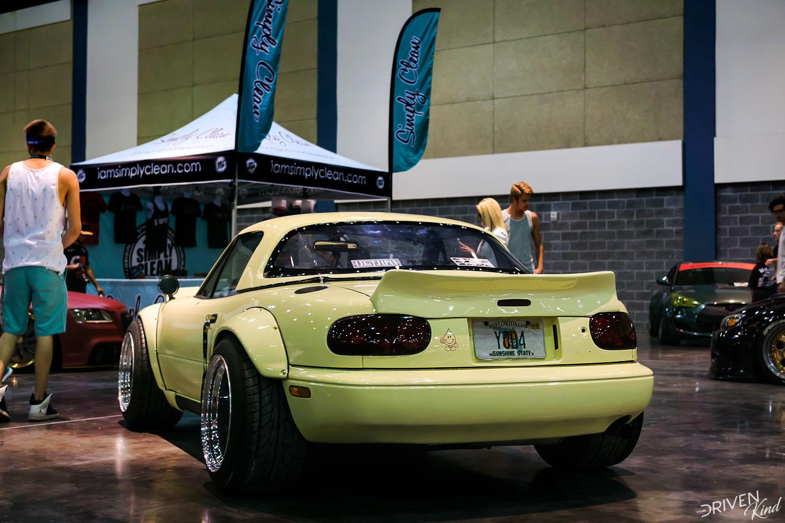 Mazda Miata widebody STANCENATION FLORIDA PALM BEACH CONVENTION CENTER 2017 Pt. 2 The Driven Kind Coverage
