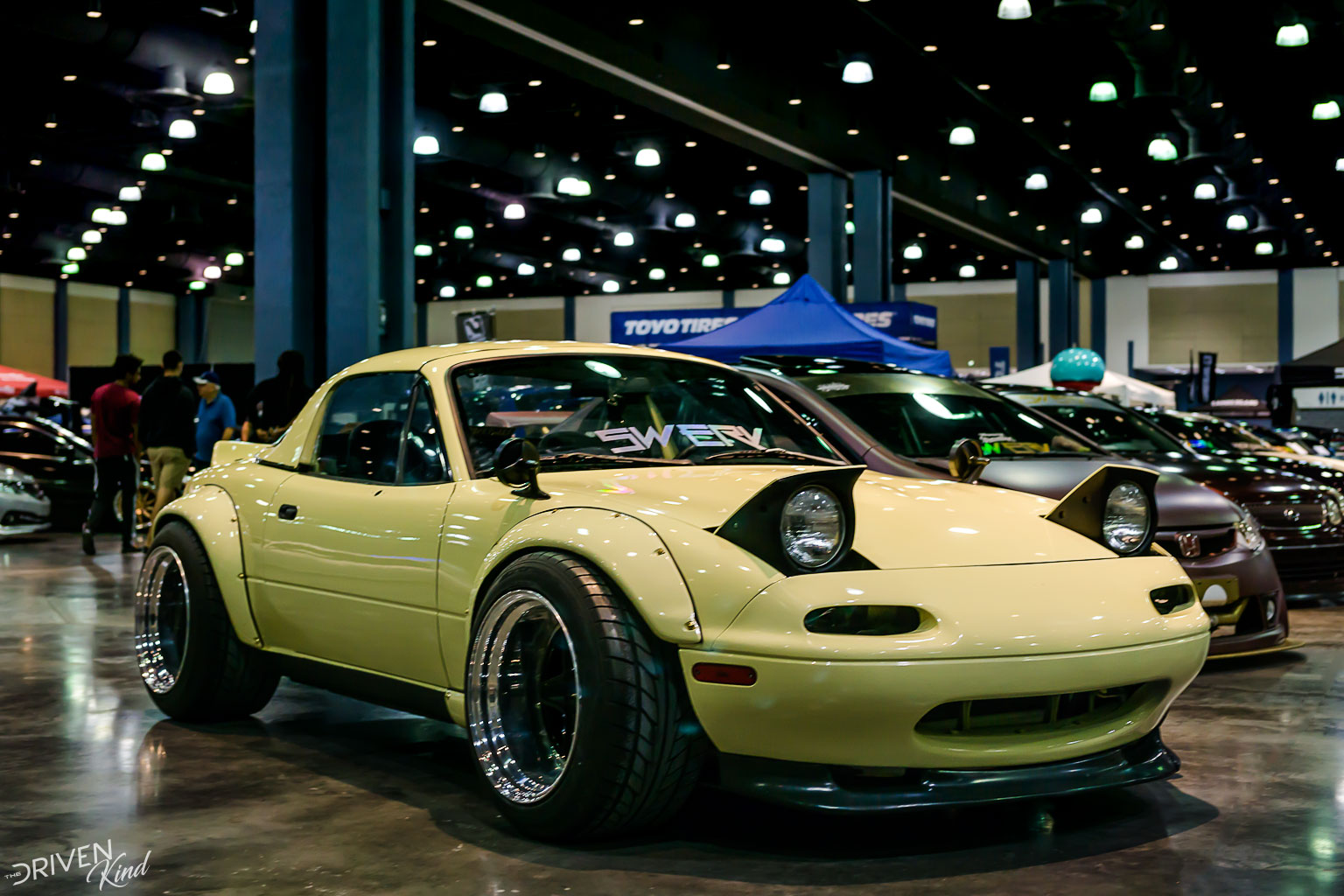Mazda Miata widebody STANCENATION FLORIDA PALM BEACH CONVENTION CENTER 2017 Pt. 2 The Driven Kind Coverage