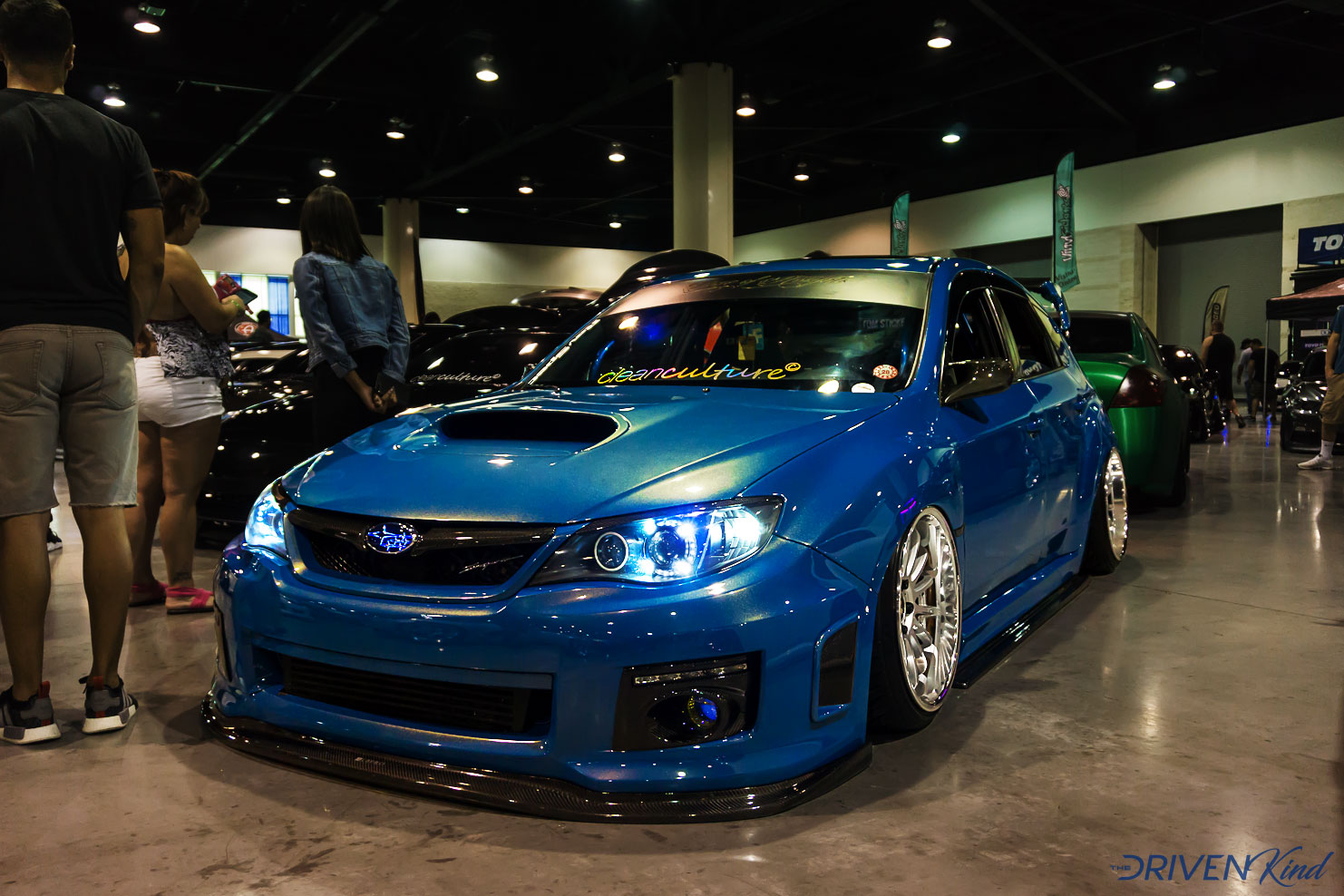 Subaru WRX STI Tuner Evolution Car Show Coverage Daytona Beach by The Driven Kind