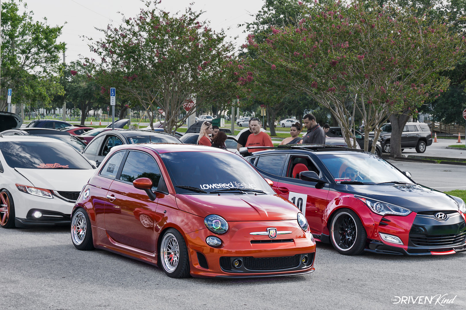 Fiat Abarth Daily Driven Inc. Presents Florida's Finest Melbourne FL Auditorium coverage by The Driven Kind