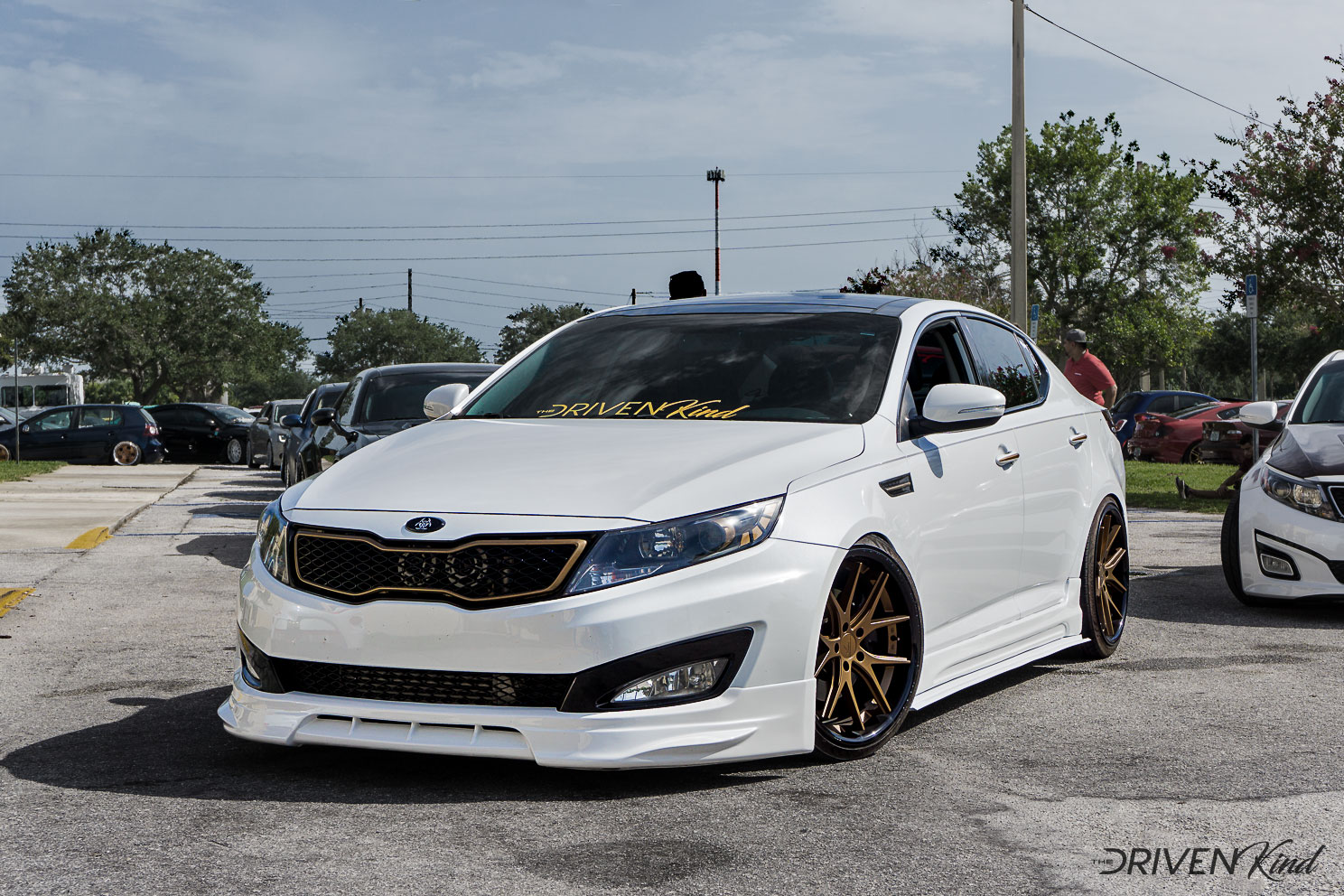 Kia Optima Daily Driven Inc. Presents Florida's Finest Melbourne FL Auditorium coverage by The Driven Kind