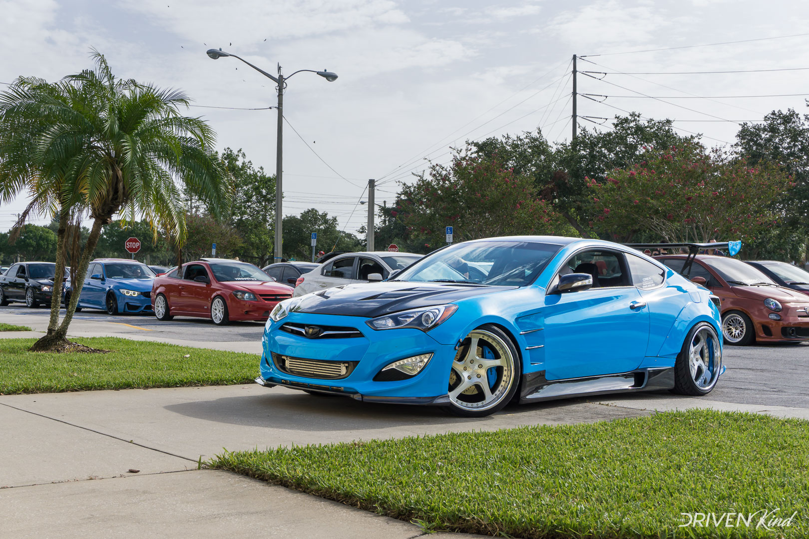 Hynudai Genesis Coupe Daily Driven Inc. Presents Florida's Finest Melbourne FL Auditorium coverage by The Driven Kind